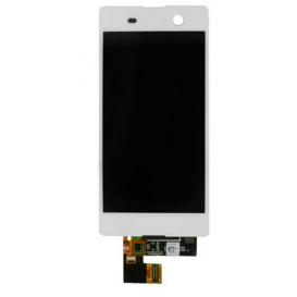 Complete Screen Assembly WHITE - Xperia M5