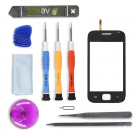 DIY Touch Screen Repair Kit (black) - Galaxy Ace Duos