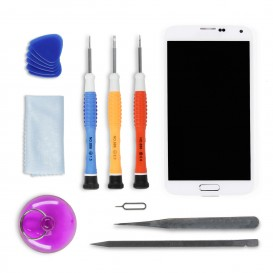 Complete Screen Assembly DIY Repair Kit (white) - Galaxy S5