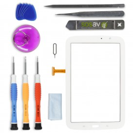 DIY Touch Screen Repair Kit (white) - Galaxy Note 8.0