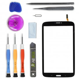 DIY Touch Screen Repair Kit (black) - Galaxy Tab 3 8""""
