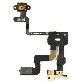 Proximity sensor + Power flex cable + top microphone - iPhone 4S