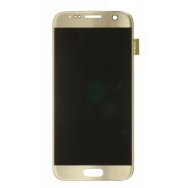Complete Screen Assembly GOLD - Galaxy S7