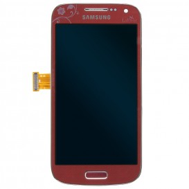 Ecran complet rouge (Officiel) - Galaxy S4 Mini Plus