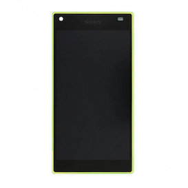 Complete Screen Assembly YELLOW (Official) - Xperia Z5 Compact