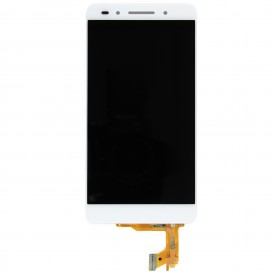 Complete Screen Assembly WHITE (LCD + touchscreen) - Honor 7