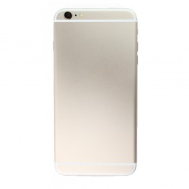 Gold Rear Frame (No logo) - iPhone 6 Plus