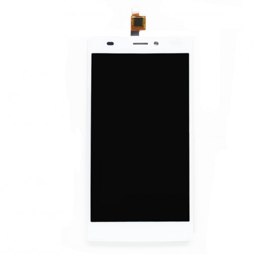 Full Screen White (LCD + Touch) (Official) - Wiko Ridge 4G