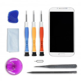 DIY WHITE Screen Repair Kit - Galaxy S4 Advance