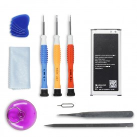 Kit réparation batterie Galaxy S5 Mini