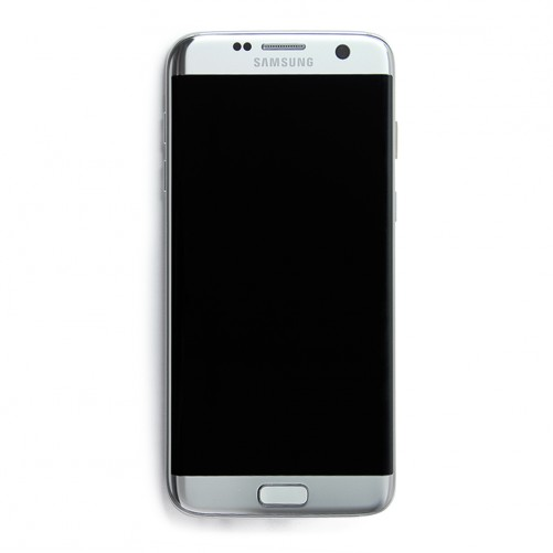 Ecran complet argent (Officiel) - Galaxy S7 Edge