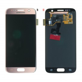 Complete Screen Assembly PINK (Official) - Galaxy S7