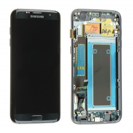 Complete Screen Assembly BLACK (Official) - Galaxy S7 Edge