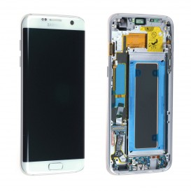 Complete Screen Assembly WHITE (Official) - Galaxy S7 Edge