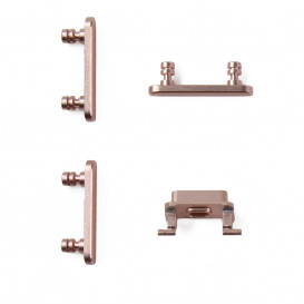 Pack of buttons (power, vibrator, mute) ROSE GOLD - iPhone 7 Plus
