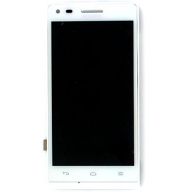 Screen WHITE (Official) - Huawei Ascend G6