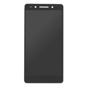 Complete Screen Assembly Black (Official) - Honor 7
