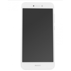 Complete Screen Assembly WHITE (LCD + touchscreen) (Official) - Huawei P8 Lite