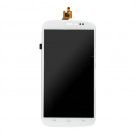 Complete Screen Assembly WHITE (LCD + touchscreen) - Wiko Darkside