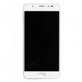 Complete screen SILVER & WHITE (Official) - Wiko U Feel Prime